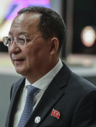 Ри Йон-хо - външен министър на Северна Корея