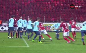 ЦСКА - Дунав 0:0 / първо полувреме/