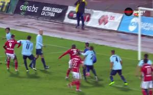 Груба вратарска грешка подари втория гол на ЦСКА