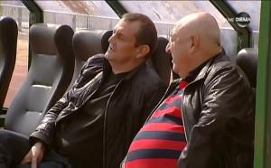 Венци Стефанов удари едно рамо на Загорчич на скамейката