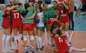 България срещу Турция на Евроволей 2017 за жени<strong> източник: БГНЕС</strong>