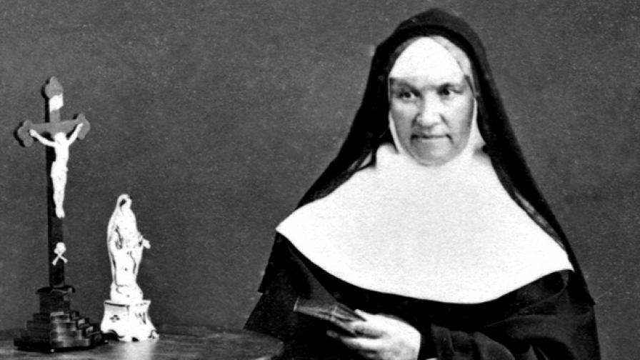 стара снимка на монахиня