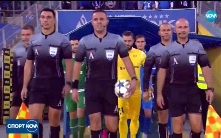 Отрязаха ЦСКА за чужди рефери в дербитата