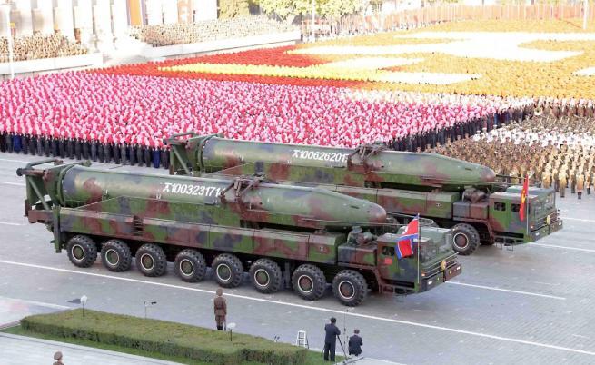Военен парад в Северна Корея