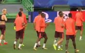 Барселона тренира на