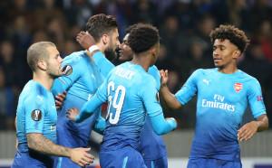Втори категоричен успех за Арсенал в Лига Европа