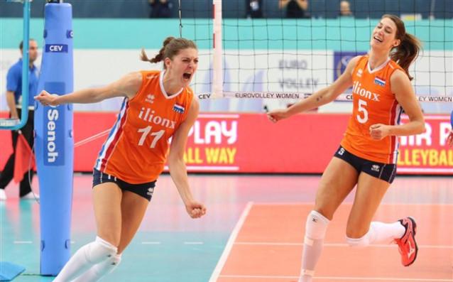 Женският волейболен тим на Холандия<strong> източник: cev.lu</strong>