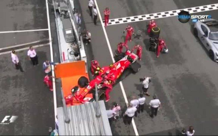 Нов шок за Ферари в Малайзия, Кими аут още преди старта