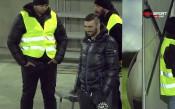Владо Стоянов в добро настроение по време на битката с Берое