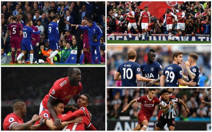 Сити и Юнайтед в битка за върха във Висшата лига