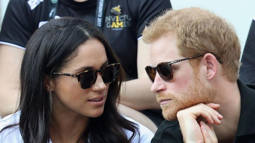 Принц Хари и Меган Маркъл направиха първата си публична поява заедно в рамките на Игрите на непобедимите в Торонто.