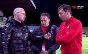 Треньорът на Локо София: Върнахме се от мъртвите