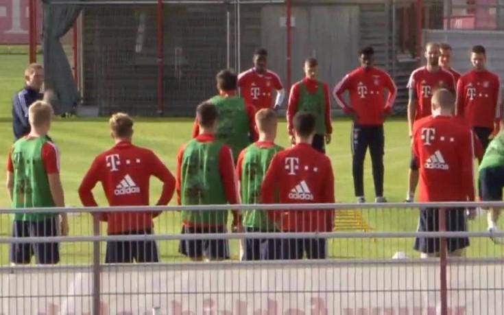 Байерн продължава да тренира под ръководството на Саньол