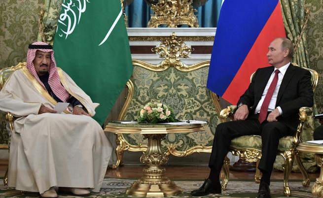 Салман и Владимир Путин