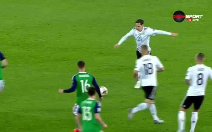 Германия разпечата Северна Ирландия със супер гол на Руди