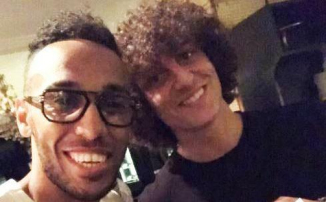 Давид Луис и Обамеянг<strong> източник: instagram.com/aubameyang97</strong>