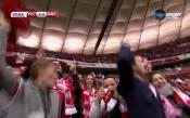 Шоуто е пълно, Левандовски дава отново аванс на Полша