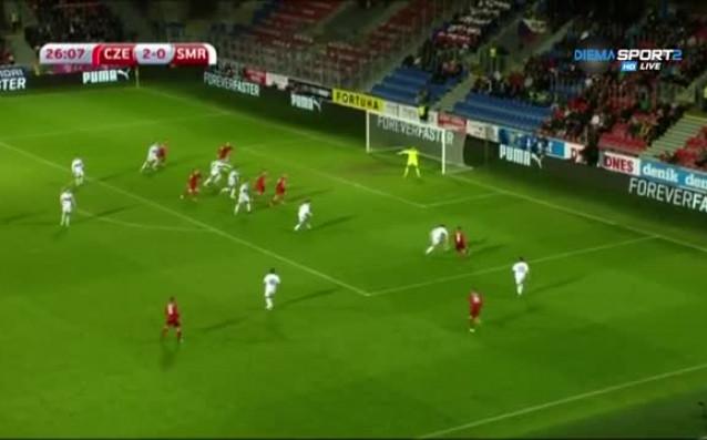 Чехия разби Сан Марино с 5:0 в световна квалификация от