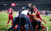 Радостта на Сърбия след класирането на Мондиала