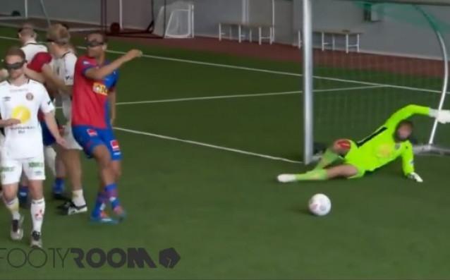Виртуално-реален футбол<strong> източник: Facebook/Footy room</strong>