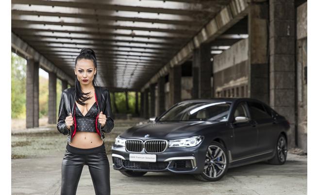 BMW M760Li xDrive & Ина Вучкова