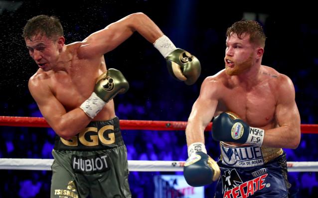 Канело Алварес срещу Генади Головкин източник: Gulliver/GettyImages