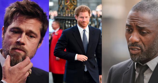 Британският принц Хари изпревари по сексапил холивудската звезда Брад Пит.