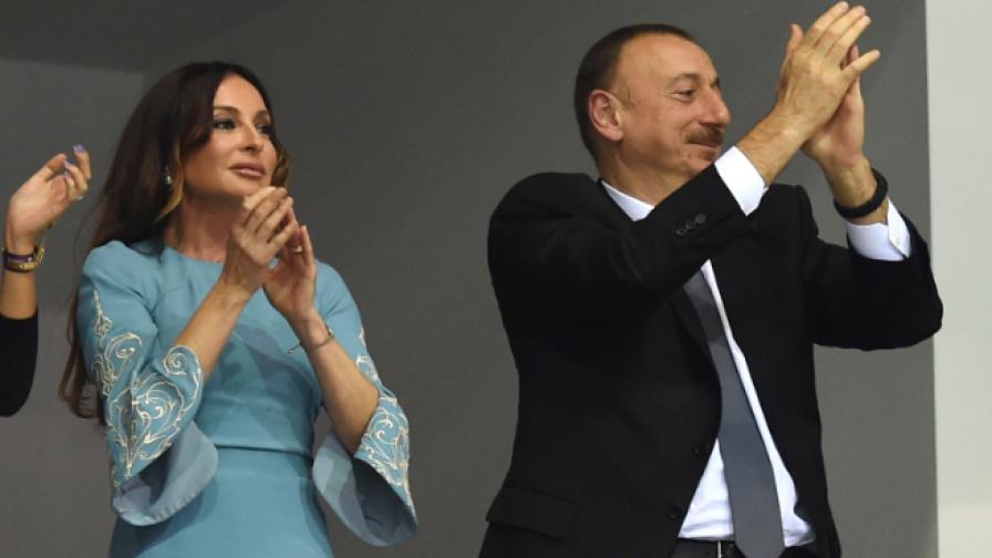 Мехрибан Алиева и Илхам Алиев