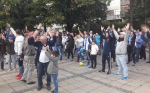 Спартаклии с мащабен протест във Варна