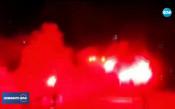 Хиляди футболни фенове блокираха Варна