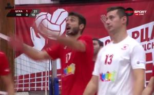 Волейболистите на ЦСКА биха Хебър за втори успех