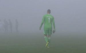 Странен случай с 21 минути продължение и гъста мъгла