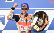 Марк Маркес се  доближи до четвърта титла в Мото GP