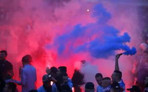 УЕФА наказа Олимпик Марсилия за два мача без фенове