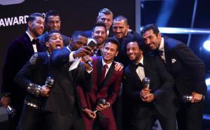 Най-доброто от наградите на ФИФА в снимки!