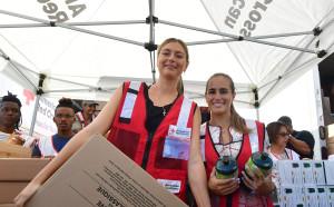 Маша се включи в благотворителна акция в Пуерто Рико