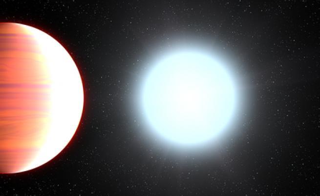 На тази екзопланета вали... слънцезащитен крем