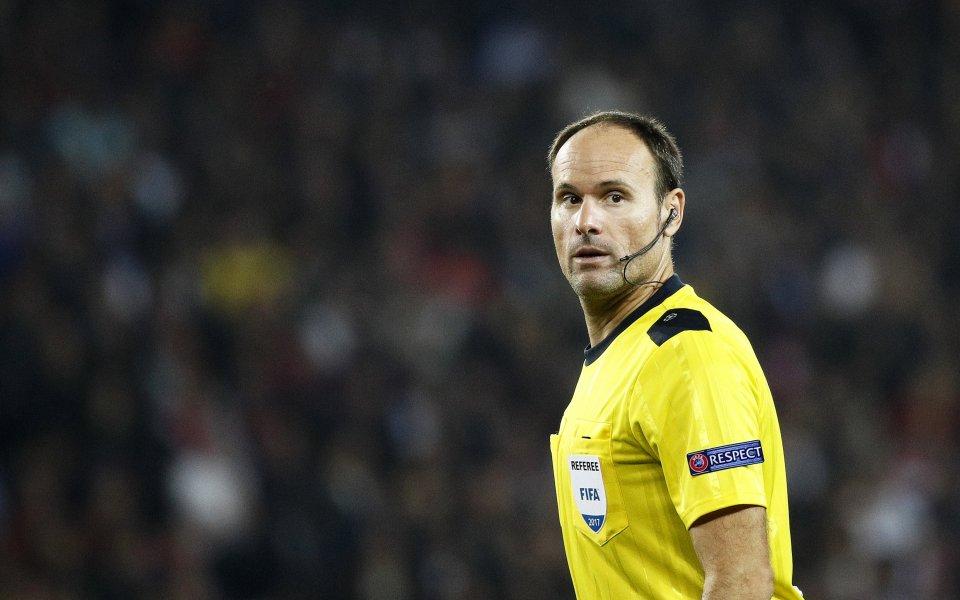 Испанецът Антонио Мигел Матеу Лаос ще ръководи финала в Шампионската