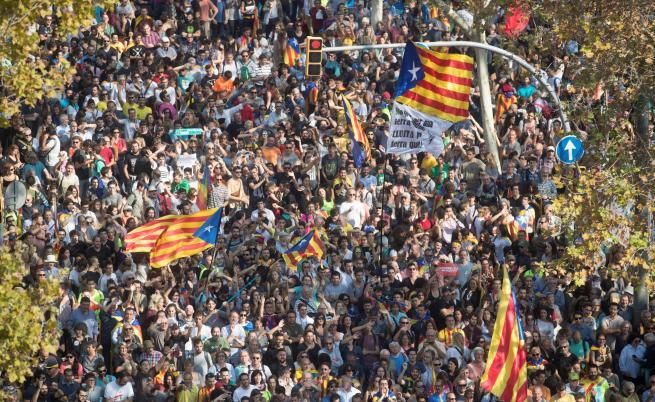 Тежки обвинения грозят каталунските лидери