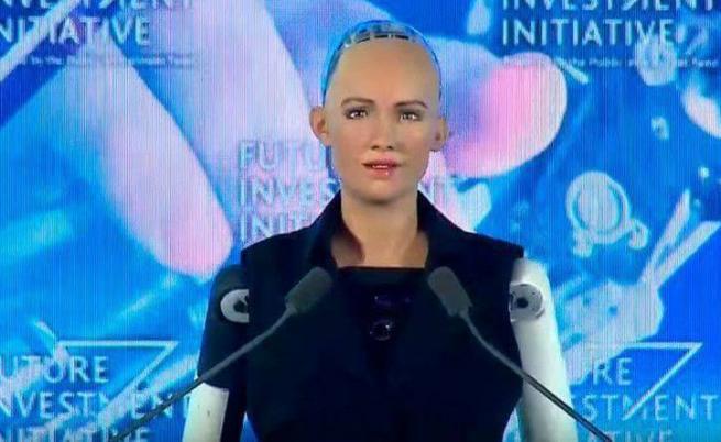Запознайте се със София, първият робот с гражданство