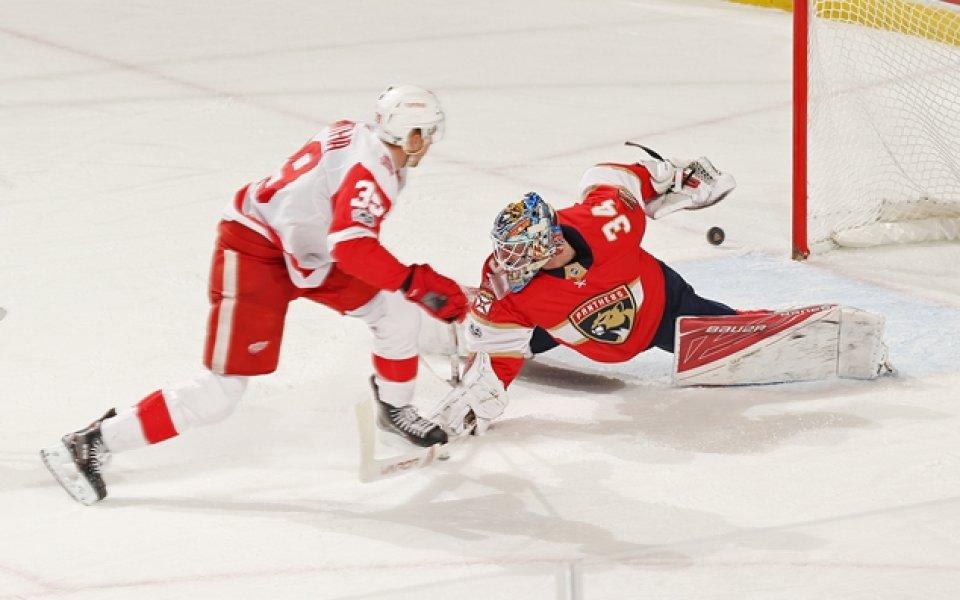 Флорида се справи с Детройт, Ню Джърси надви Аризона в НХЛ
