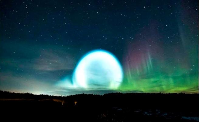 Мистериозни кръгове се появиха в небето над Сибир