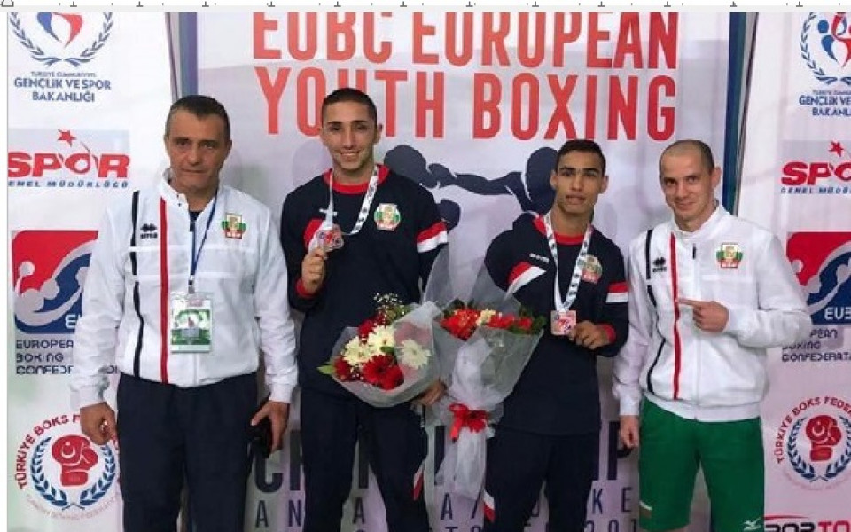 Два бронза за България от Европейското първенство по бокс