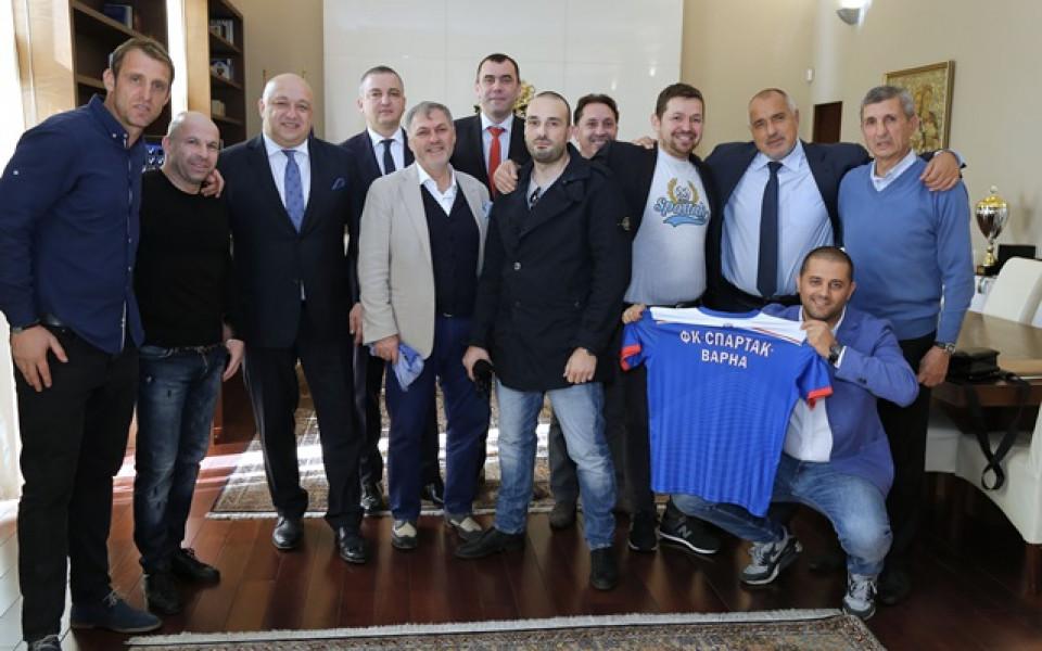 Спартак Варна ще ползва стадион