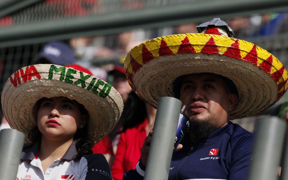 фенове на Формула 1 в Мексико