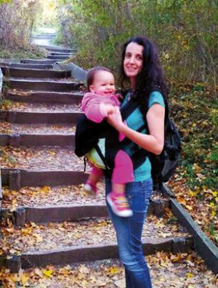 Екатерина и малката Криси