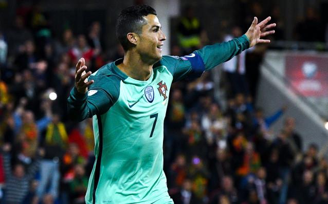 Звездата на португалския национален отбор Кристиано Роналдо получи почивка от