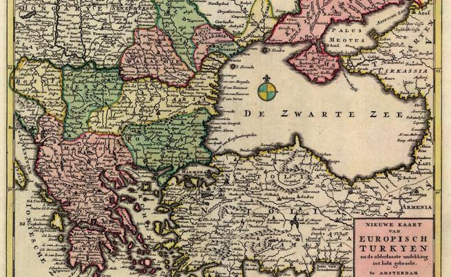 Невиждани карти на България преди и след Освобождението (СНИМКИ)