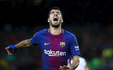 Луис Суарес трябва да разваля черна серия в Шампионска лига