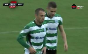 Георги Илиев се разписа в паметния си мач